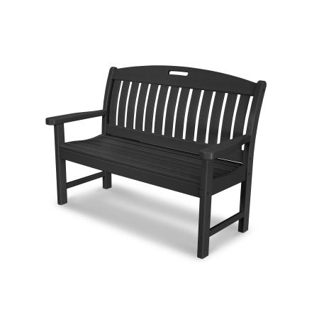 "Nautical 48"" Bench in Black"