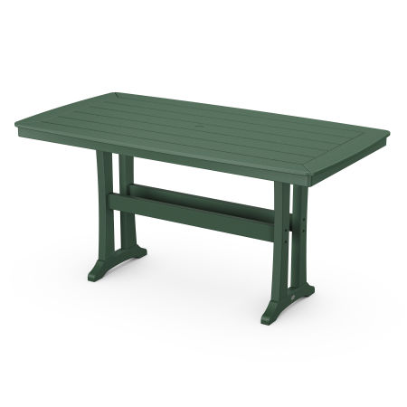 Counter Table in Green