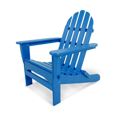 Classics Folding Adirondack in Pacific Blue