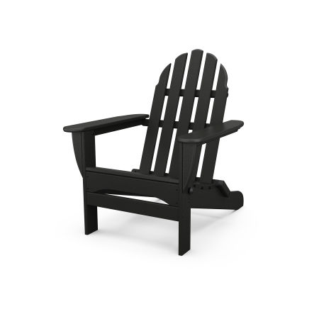 Classic Folding Adirondack in Black