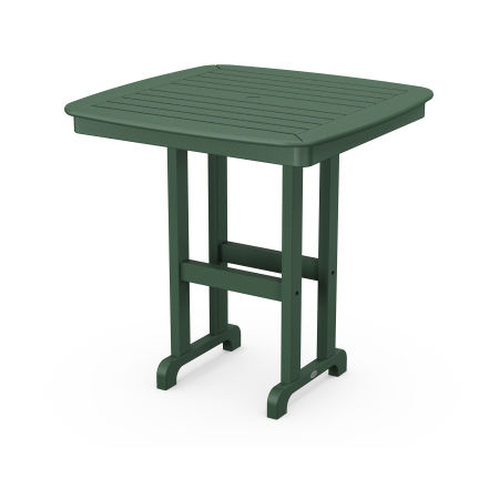 """Nautical 37"""" Counter Table in Green"""
