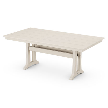"37"" x 72"" Dining Table in Sand"