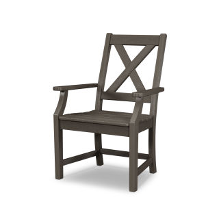 Braxton Dining Arm Chair in Vintage Finish
