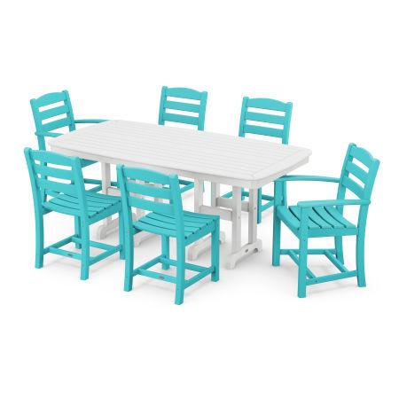 La Casa Café 7-Piece Dining Set in Aruba