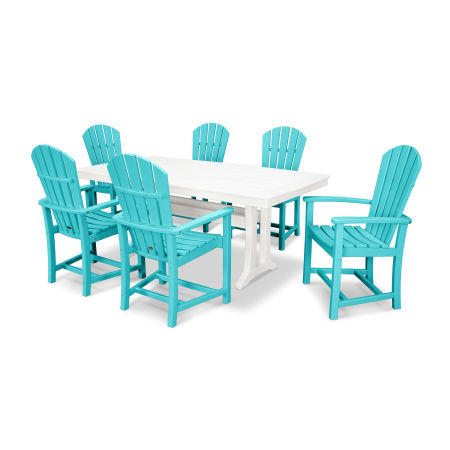 Palm Coast 7 Piece Dining Set in Aruba