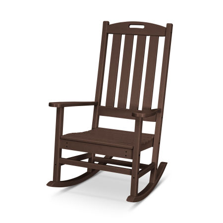 Nautical Porch Rocking Chair in Mahogany