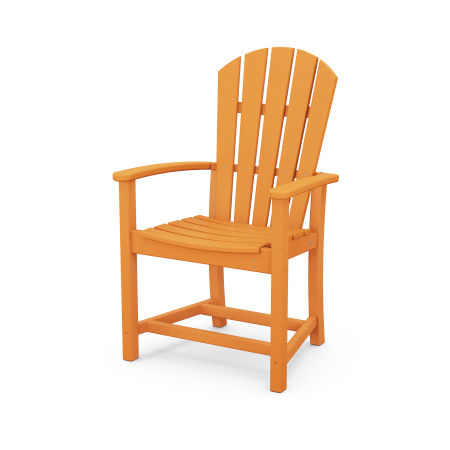 Palm Coast Dining Chair in Tangerine