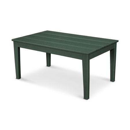 """Newport 22"""" x 36"""" Coffee Table in Green"""