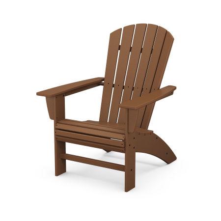 Nautical Curveback Adirondack Chair in Teak