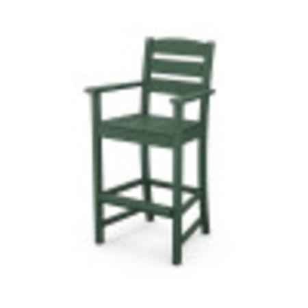 Lakeside Bar Arm Chair in Green