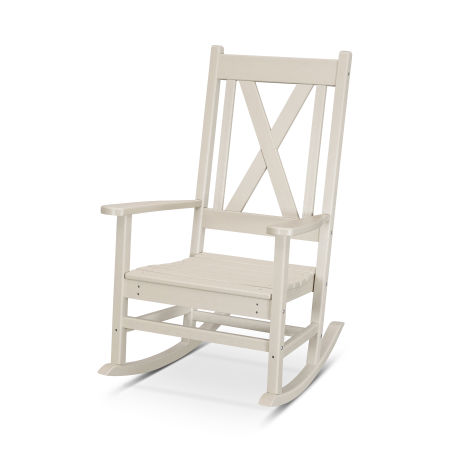 Braxton Porch Rocking Chair in Sand