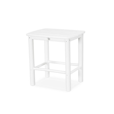 McGavin Side Table in White