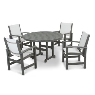 Coastal 5-Piece Dining Set