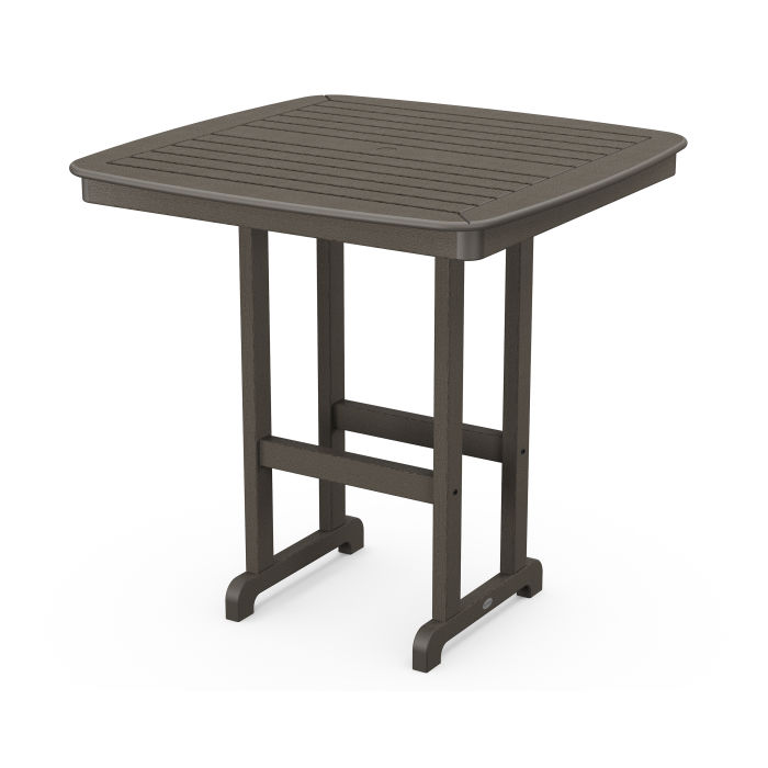 """Nautical 44"""" Bar Table in Vintage Finish"""
