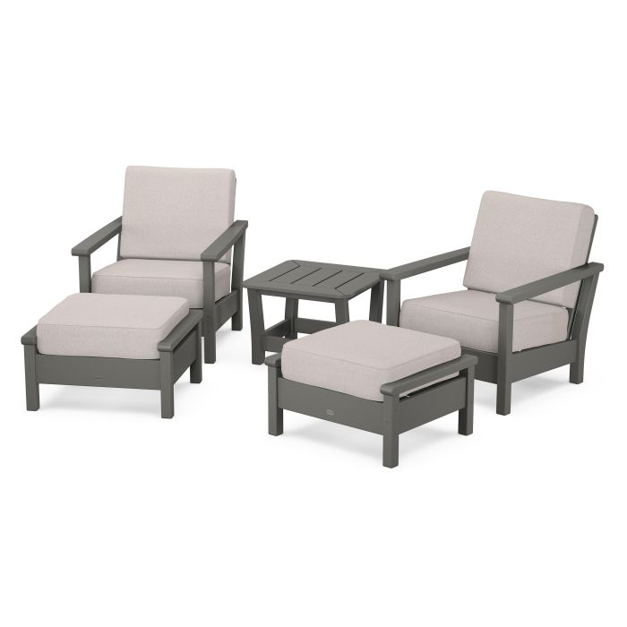 Harbour 5-Piece Deep Seating Chair Set