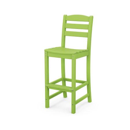 La Casa Café Bar Side Chair in Lime