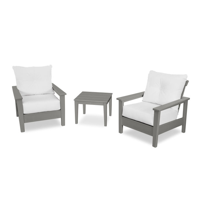 Prescott 3-Piece Deep Seating Set