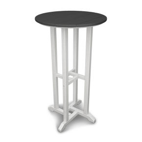 "Contempo 24"" Round Bar Table"