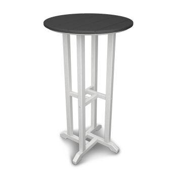 """Contempo 24"""" Round Bar Table"""