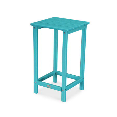"Long Island 26"" Counter Side Table in Aruba"