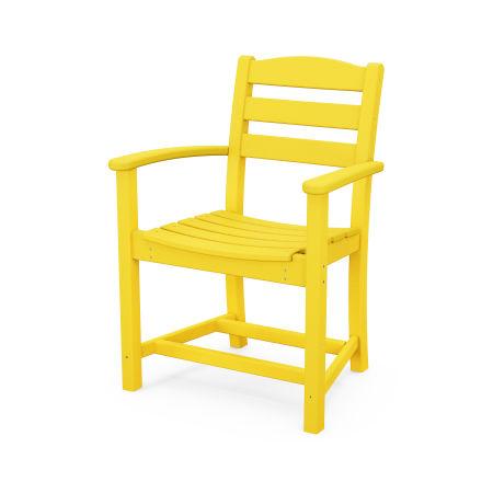 La Casa Café Dining Arm Chair in Lemon