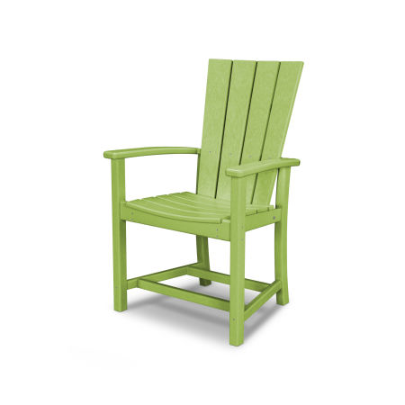 Quattro Adirondack Dining Chair in Lime
