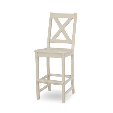 Braxton Bar Side Chair in Sand