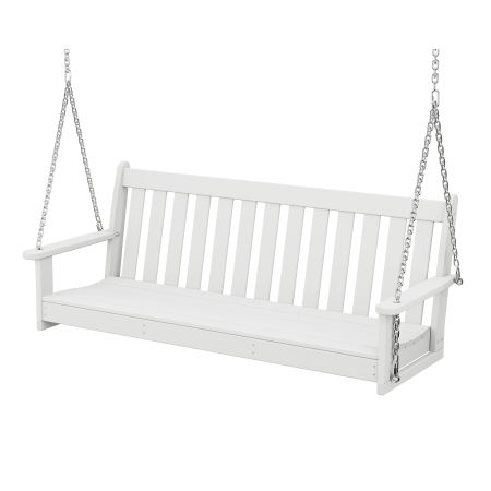 "Vineyard 60"" Swing in White"