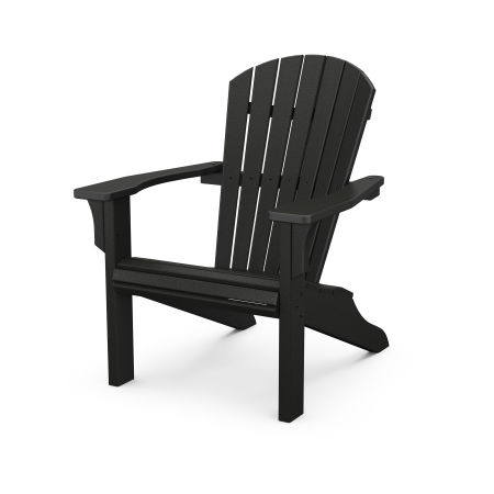 Seashell Adirondack in Black