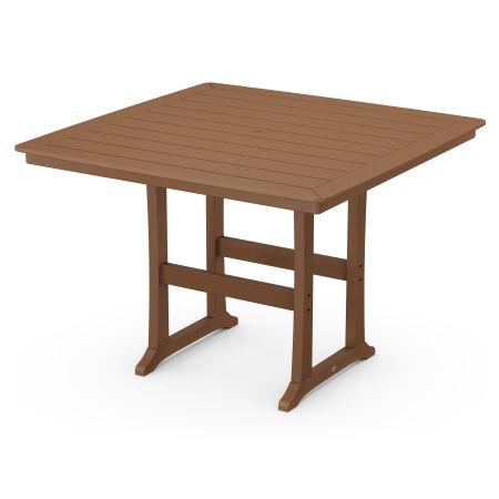 """59"""" Bar Table in Teak"""