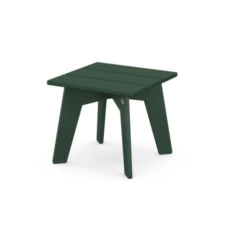 Riviera Modern Side Table in Green