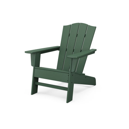 The Crest Chair in Green