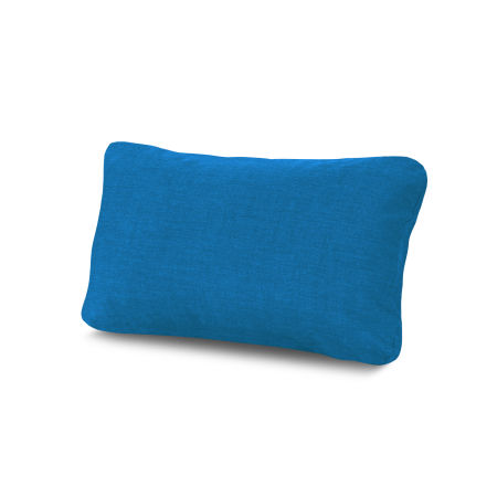 Outdoor Lumbar Pillow in Cast Royal