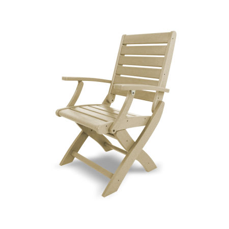 Signature Folding Chair in Sand