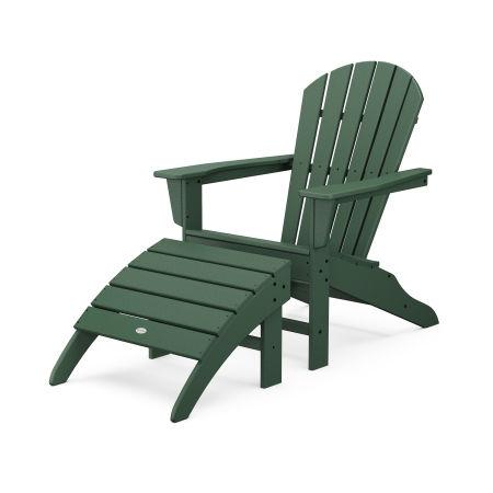 South Beach Adirondack 2-Piece Set in Green