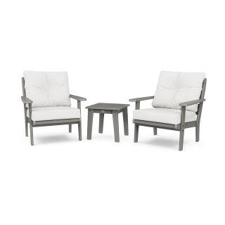 Lakeside 3-Piece Deep Seating Chair Set