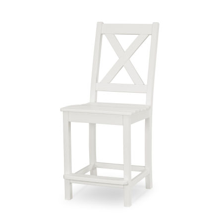 Braxton Counter Side Chair in Vintage White