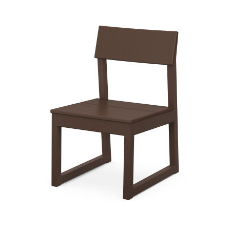 EDGE Dining Side Chair in Mahogany