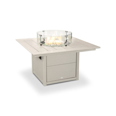 "Square 42"" Fire Pit Table in Sand"
