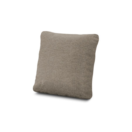 "18"" Outdoor Throw Pillow in Sancy Shale"