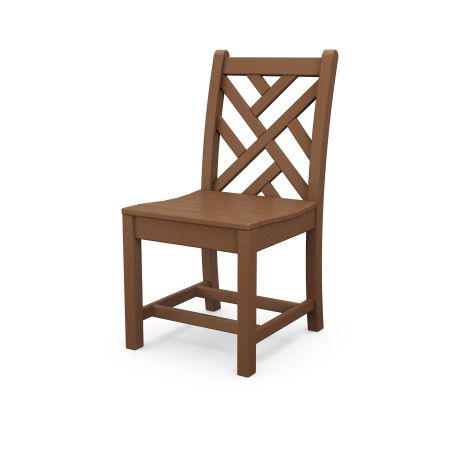 Chippendale Dining Side Chair in Teak