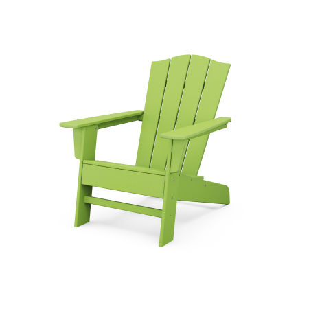 The Crest Chair in Lime