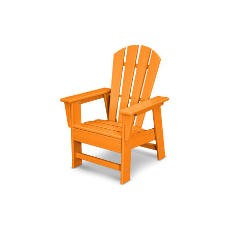 Casual Chair in Tangerine