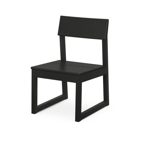 EDGE Dining Side Chair in Black