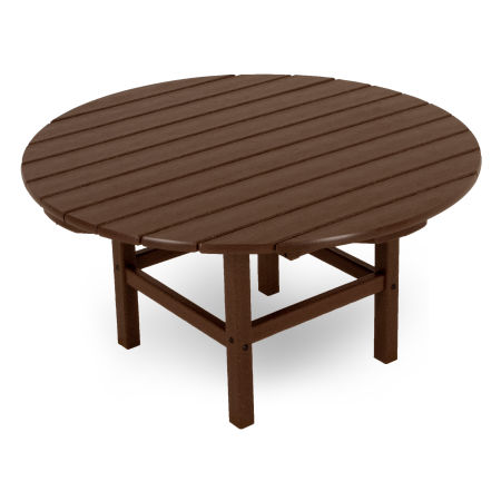 """Round 38"""" Conversation Table by Ivy Terrace in Mahogany"""