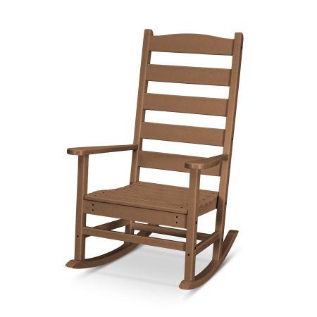 Shaker Porch Rocking Chair in Teak