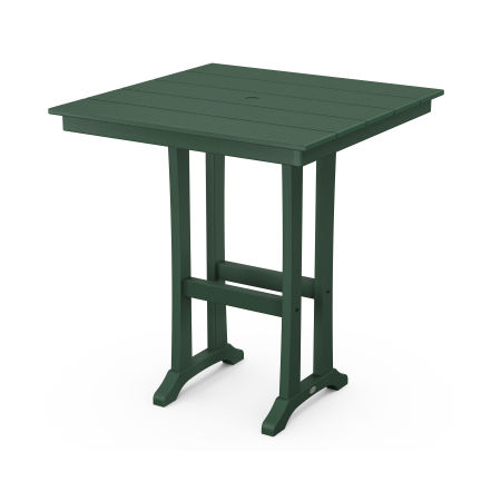 "37"" Bar Table in Green"