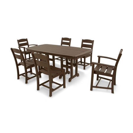Classics 7-Piece Dining Set in Mahogany