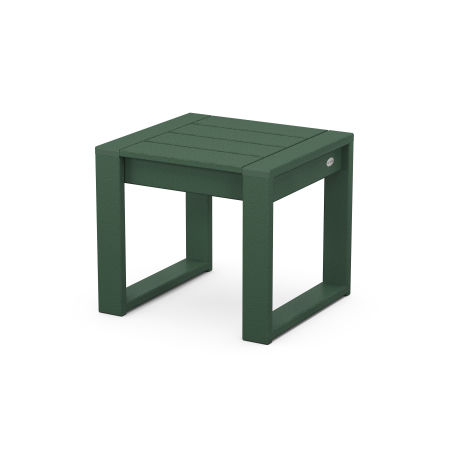 EDGE End Table in Green