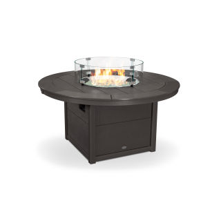 "Round 48"" Fire Pit Table in Vintage Finish"